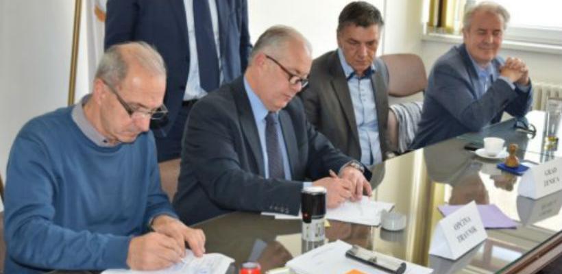 U Travniku potpisan ugovor podrške projektu vodovoda Plava voda
