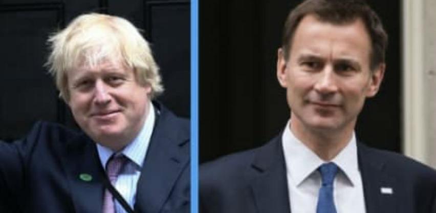 Johnson i Hunt u utrci za premijera Velike Britanije
