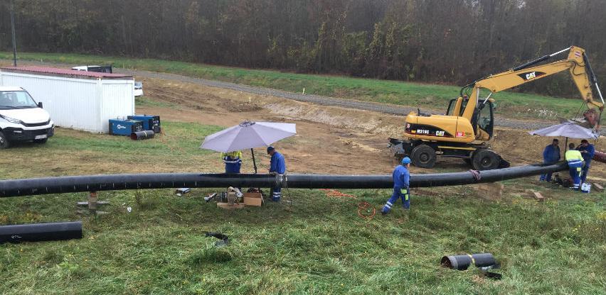 Počela izgradnja gasovoda na teritoriji Rafinerije nafte Brod