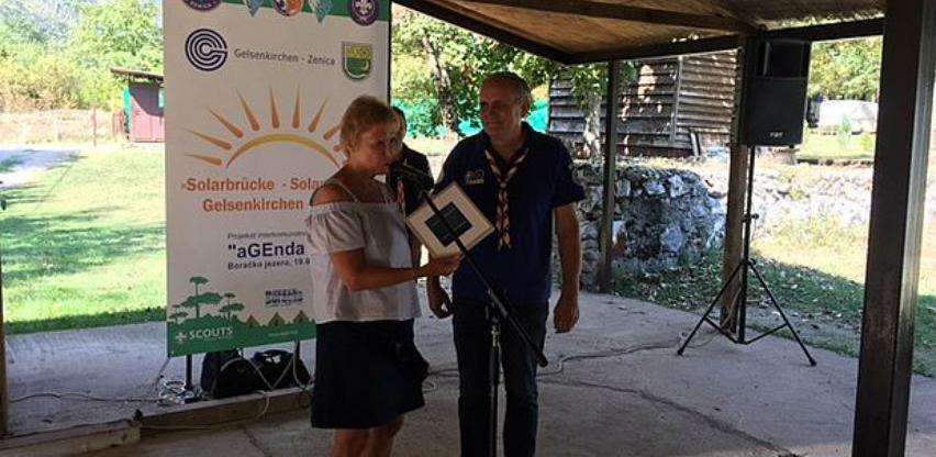 Na Boračkom jezeru izvršena primopredaja solarnih panela