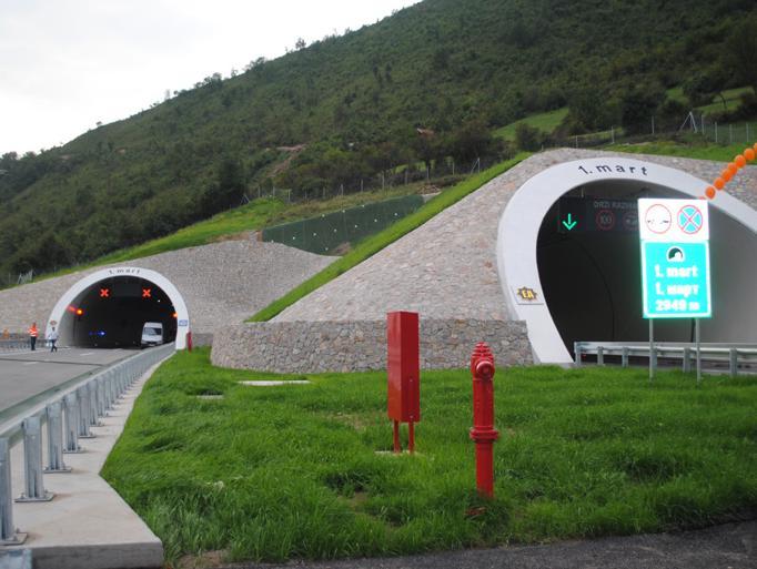 Spektakularnim vatrometom otvoren tunel 1. mart i dionica Zenica jug-Lašva