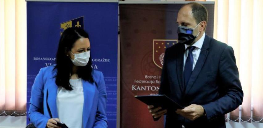 Potpisan protokol o saradnji KS i BPK Goražde