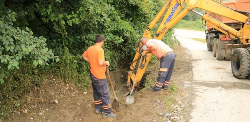 Radno na polju infrastrukture u Banovićima