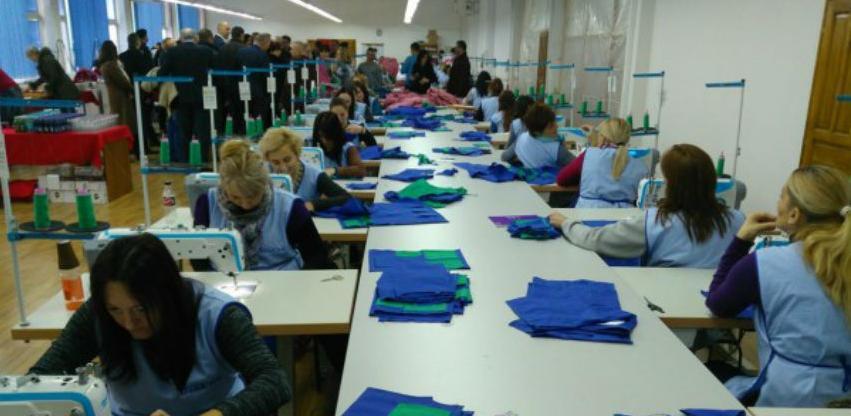 Otvorena fabrika tekstila kod Foče: Do juna posao za 100 radnika