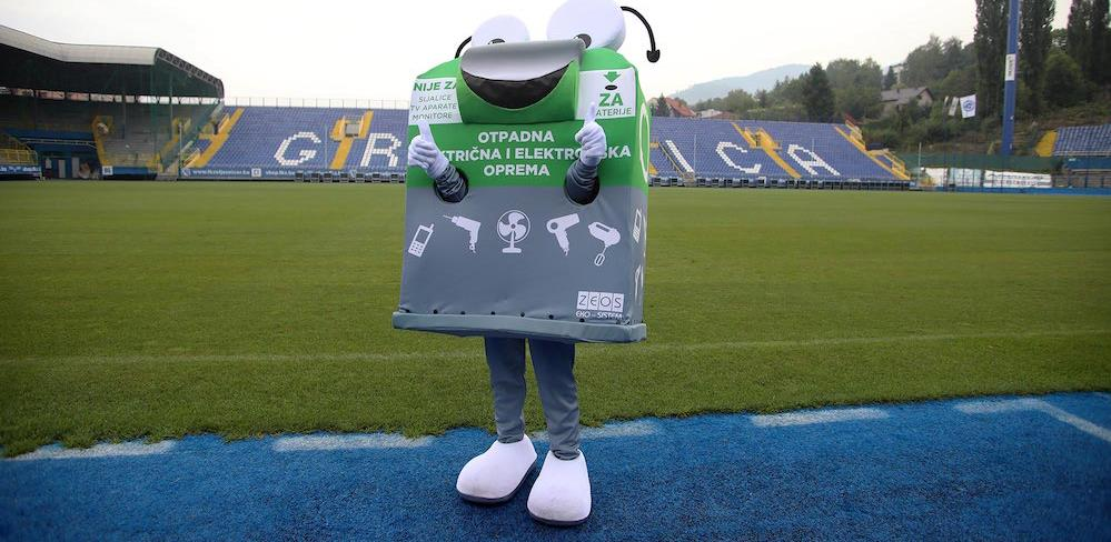 Mister Recko u posjeti na treningu FK Željezničar
