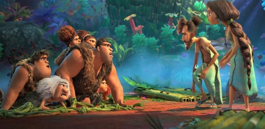 """Una film predstavlja animiranu avanturu o prvoj porodici na svijetu """"Croods"""""""