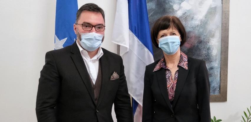 Košarac i Hlavsov o ekonomskoj saradnji između BiH i Češke