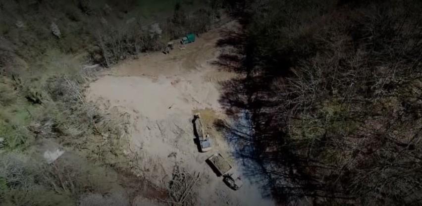 Ekocid kod Foče: Korito bistre planinske rijeke postalo je gradilište