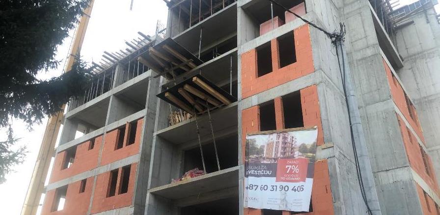 Na Ilidži se gradi stambeni objekat Green Residence