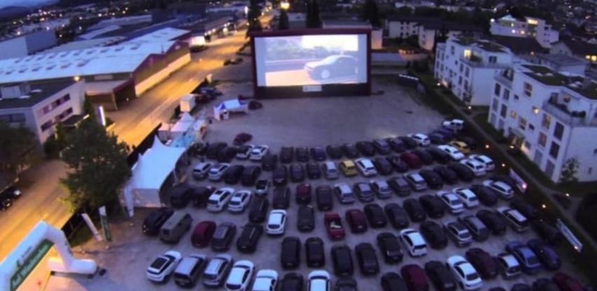 Odobreno besplatno korištenje parkinga za Drive-in kino u Kotromanićevoj