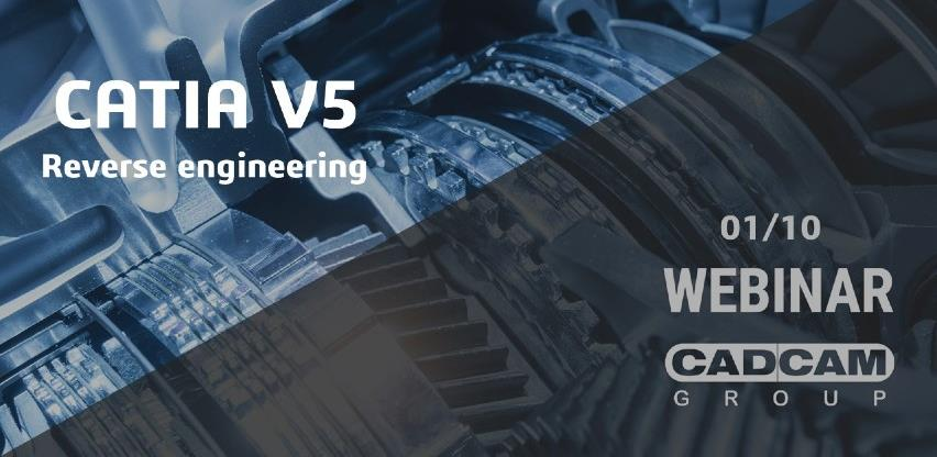 Webinar: CATIA V5 Reverse engineering
