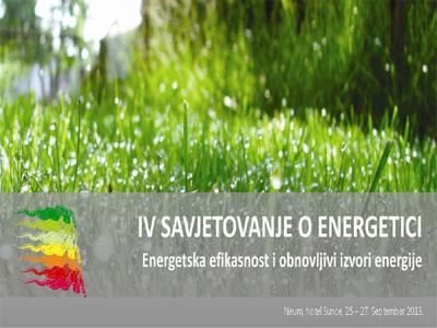 IV Savjetovanje o energetici od 25. do 27. septembra u Neumu