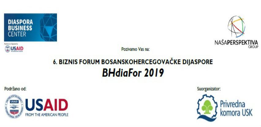 Šesti Biznis forum bh. dijaspore – BHdiaFor 31. jula u Bihaću