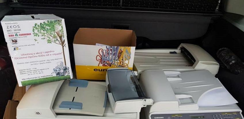 """Realizovan projekt """"Očistimo Općinu Ilidža od e-otpada"""""""