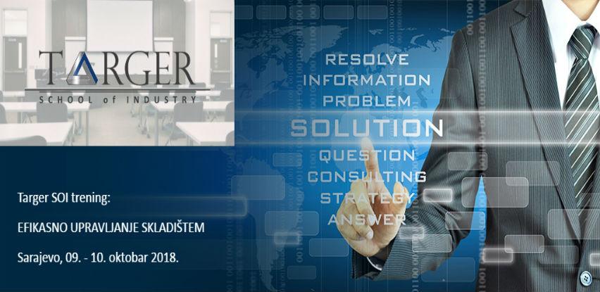 Targer School of Industry trening: EFIKASNO UPRAVLJANJE SKLADIŠTEM