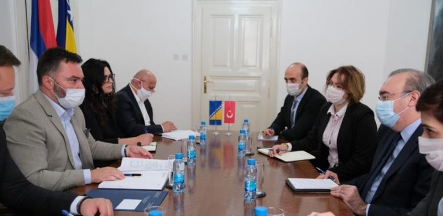 Ministar Košarac i ambasador Koc o izvozu mesa u Tursku