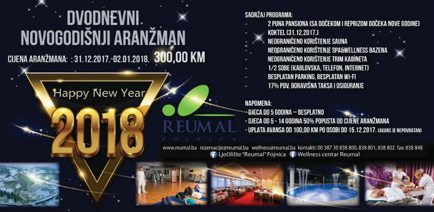 Dočekajte Novu godinu u Lječilištu Reumal u Fojnici