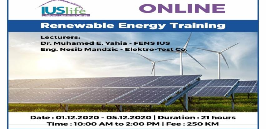 Online Renewable Energy Training