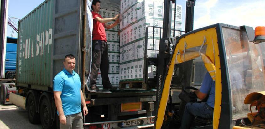 Vinarija Čitluk: Za Nepal upućen prvi kontejner s oko 13.500 butelja vina