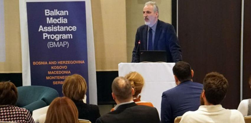Forum BMAP - Podići nivo profesionalnosti i održivost medija na Balkanu