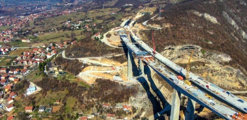 Radovi na poddionici Klopče-Donja Gračanica teku planiranom dinamikom (Foto)