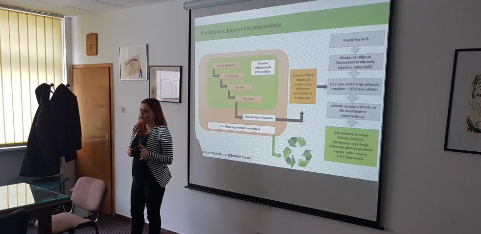 Pokretanje projekta edukacije i selektivnog odlaganja e-otpada