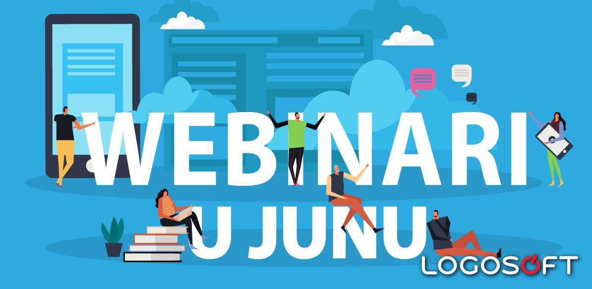 Webinari u junu u Logosoft Edukaciji