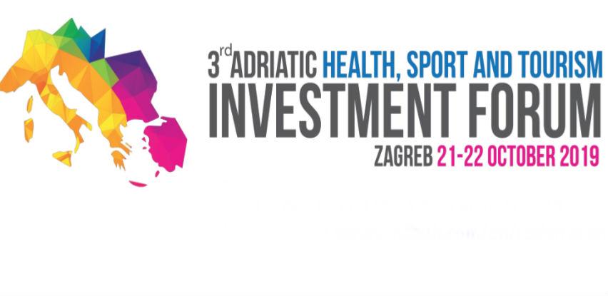Treći investicijski forum zdravlja, športa i turizma Adriatic regije u Zagrebu