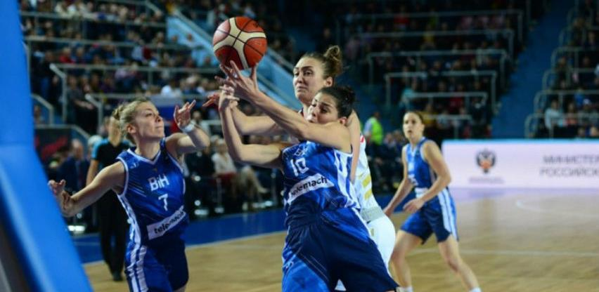 Pobjeda košarkašica BiH u Rusiji na startu kvalifikacija za EP