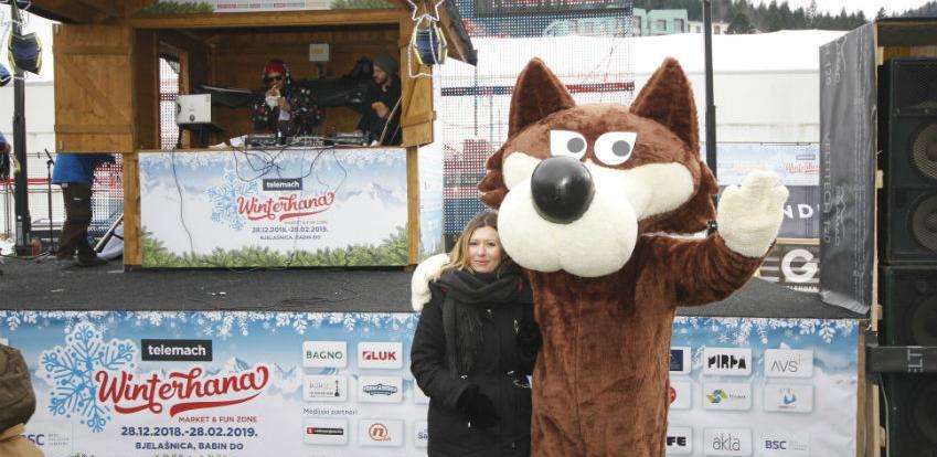 """Na Bjelašnici otvorena manifestacija """"Telemach Winterhana market&fun zone"""""""