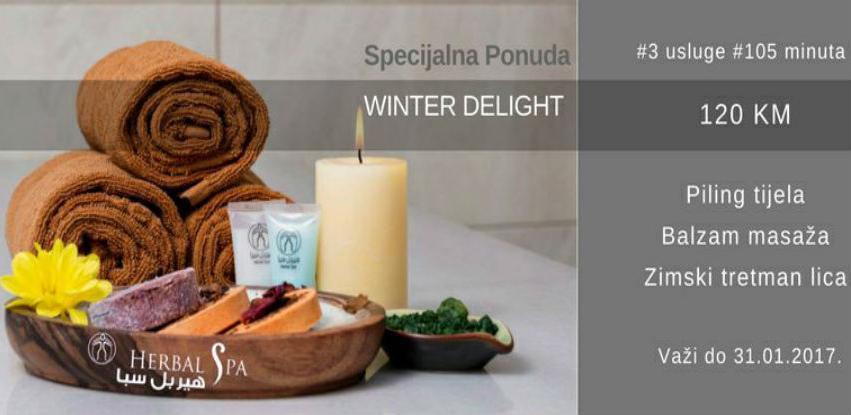 Specijalna ponuda - Herbal Spa Winter delight!