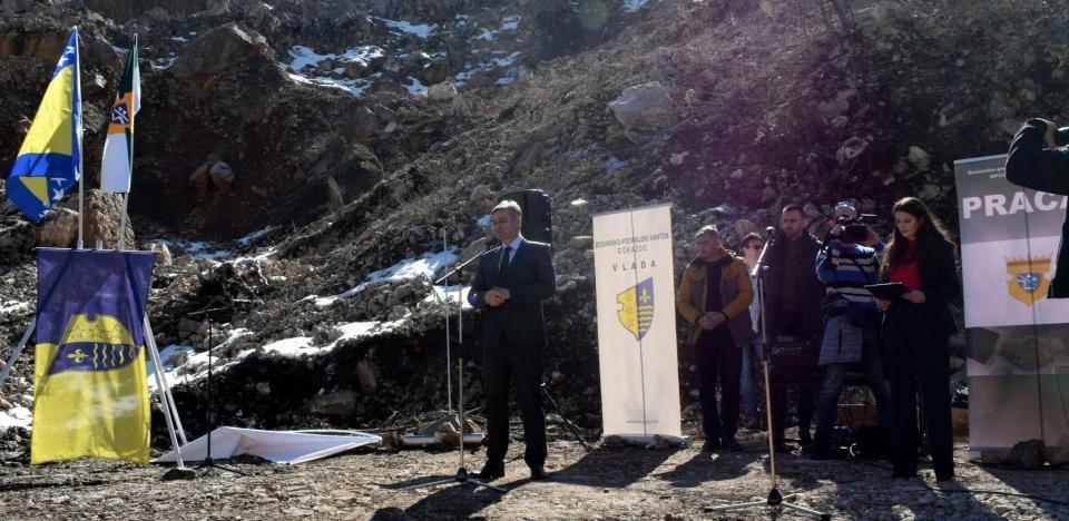 Ozvaničen početak radova na izgradnji tunela Hranjen