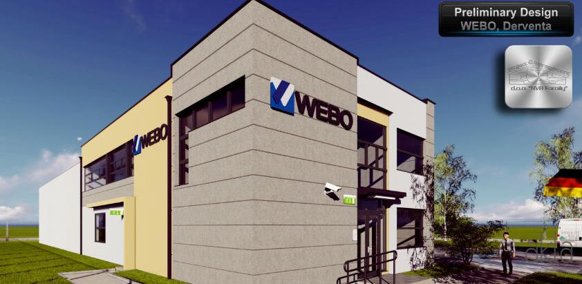 Njemačka kompanija Webo kreće sa izgradnjom upravne zgrade u Derventi