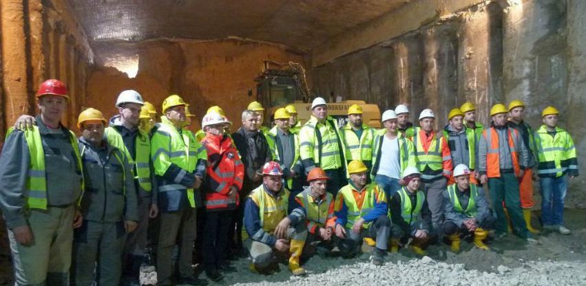Na Koridoru 5-C kod Zenice izvršen proboj Tunela Ričice