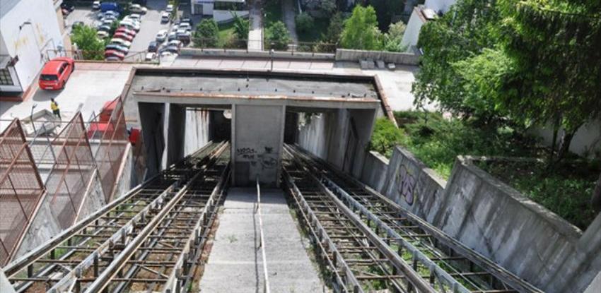Započeli radovi na demontaži konstrukcije kosog lifta na Ciglanama