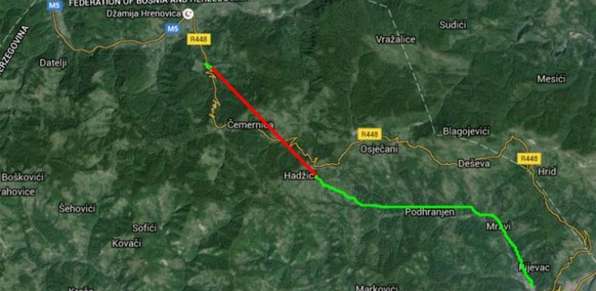 Brza cesta Sarajevo - Goražde biće duža za skoro 5 km