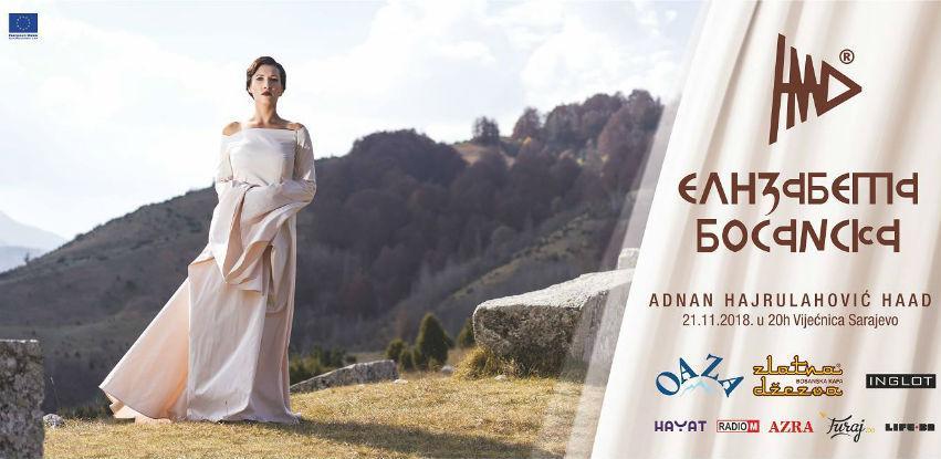 "Revija ""Elizabeta Bosanska"" modnog dizajnera Adnana Hajrulahovića Haada"