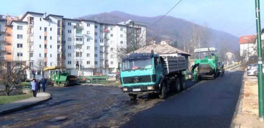 Sanacija i asfaltiranje ulica u Vogošći
