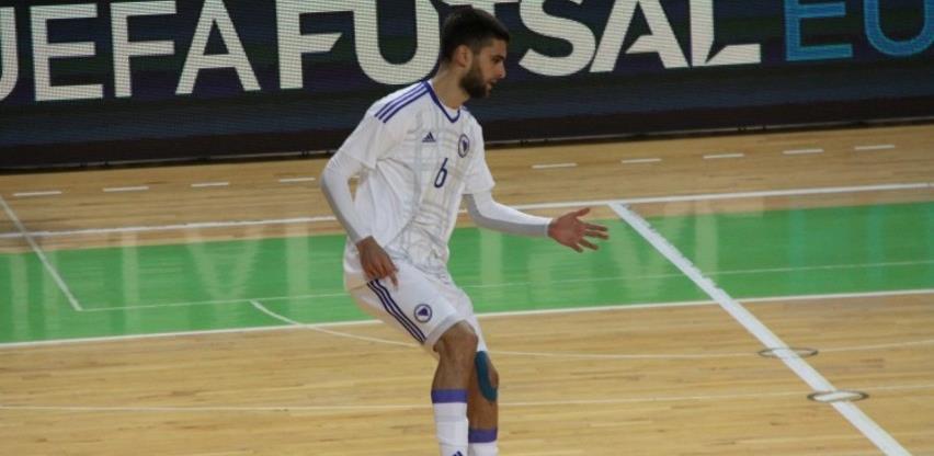 Futsal tim BiH s 5:0 porazio Rumuniju i izborio historijski plasman na EURO 2022