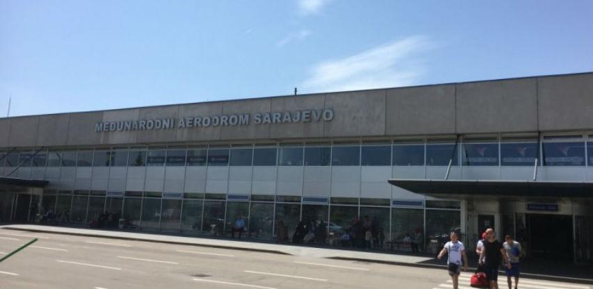 Na aerodromima FBiH promet putnika veći 2,4 posto, tereta manji za 17,3 posto