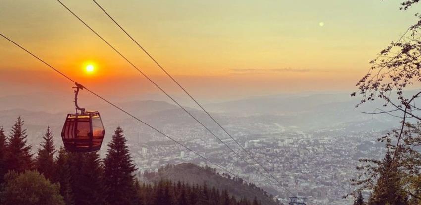 Niže cijene Sarajevske žičare: Povratna karta 3 KM