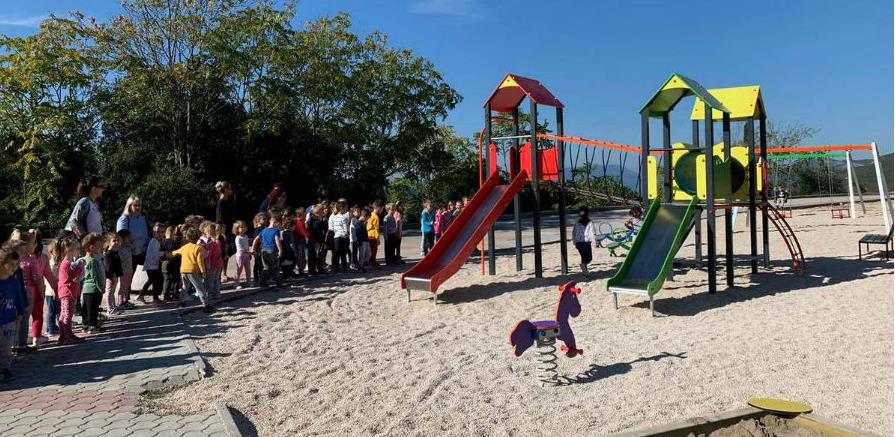 Druga faza izgradnje dječjeg igrališta Neum