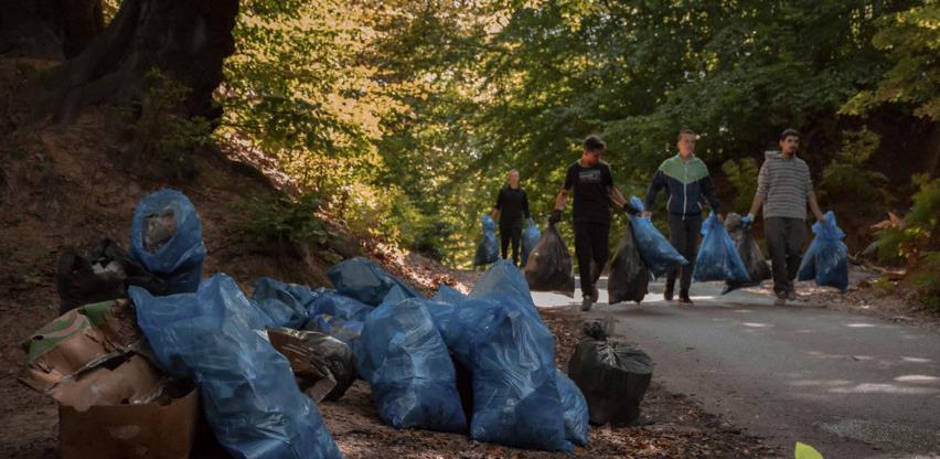 Čišćenje ilegalne deponije u Tuzli 19. septembra