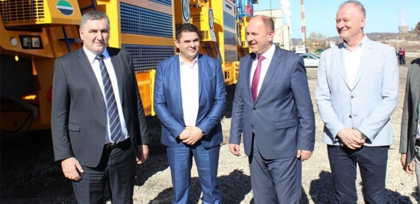 Puštena u pogon rudarska mehanizacija vrijedna devet miliona KM