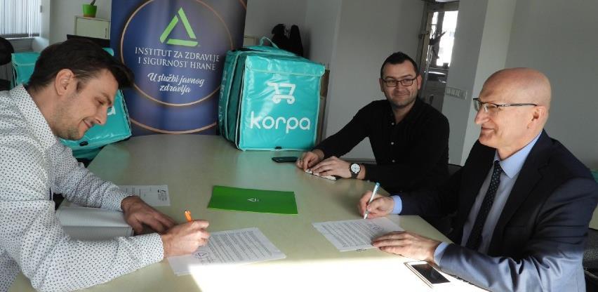 Ugovor INZ-a i 'Korpa.ba' - Kupcima još bolja usluga i sigurnija hrana