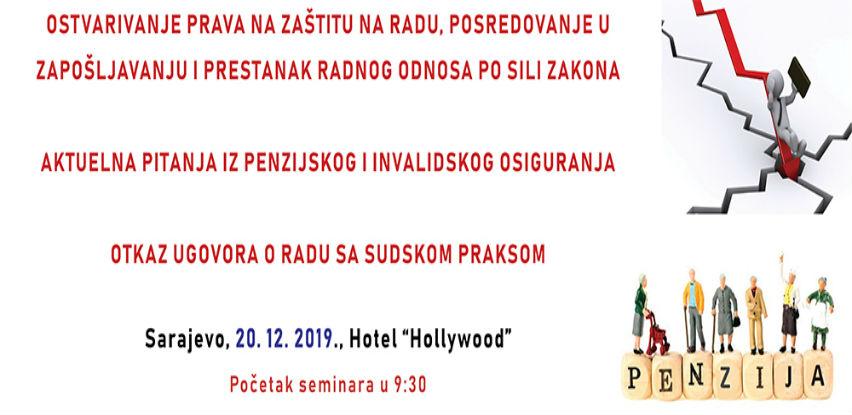 Seminar: Aktuelne teme iz oblasti radnih odnosa
