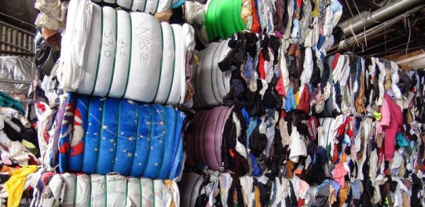 Počelo uništavanje sumnjivog tekstilnog otpada u BiH