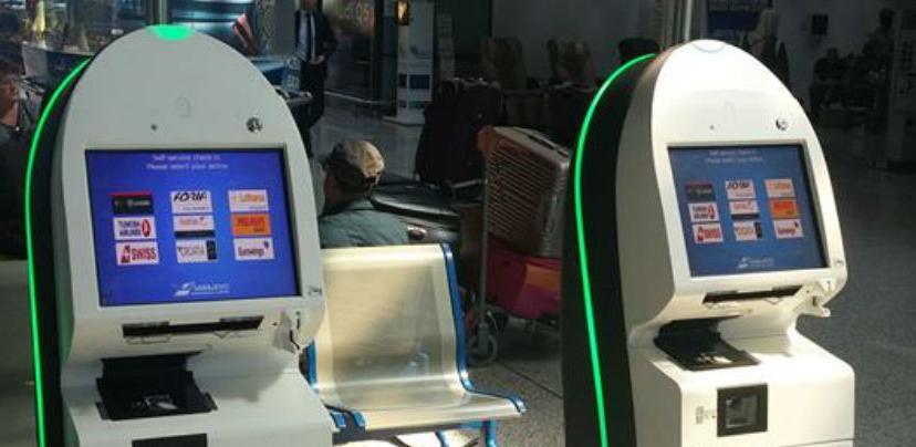 Na aerodromu Sarajevo postavljeni kiosci za samostalni check-in