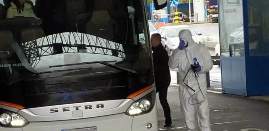 U Neumu pregledan autobus sa kineskim turistima iz Wuhana