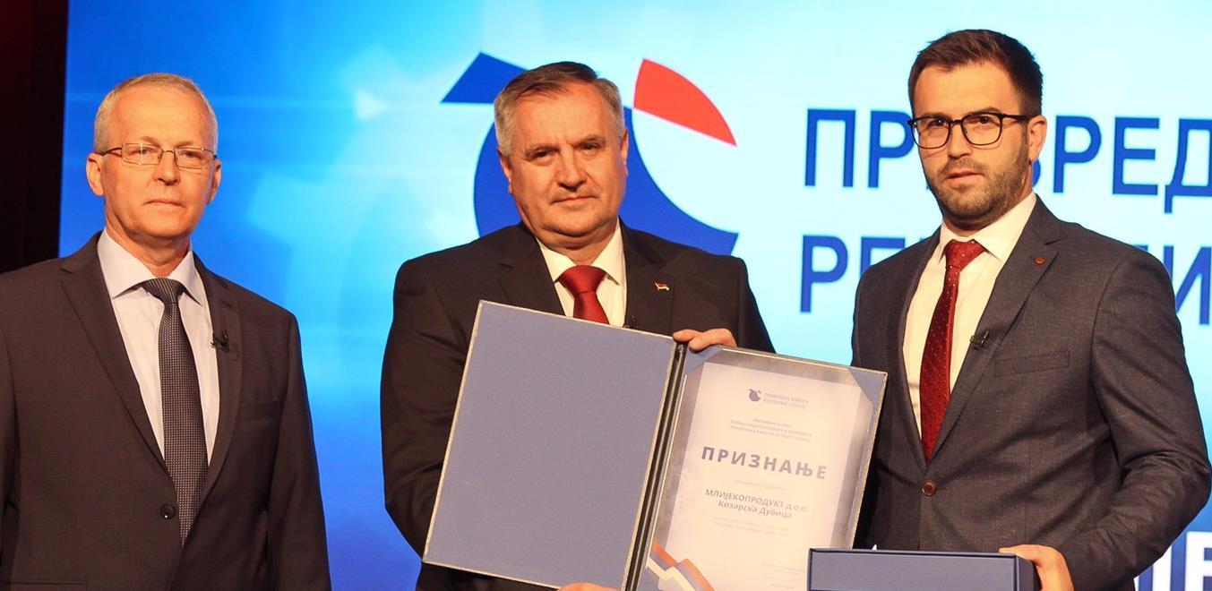 Proglašeni najuspješniji u privredi Republike Srpske
